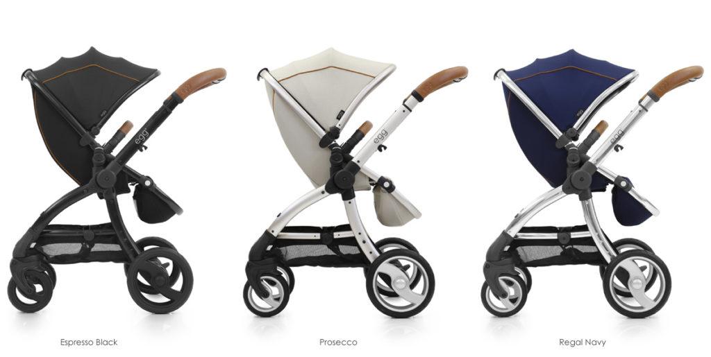 the egg stroller - 3 colours
